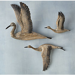 Crane Migration Wall Art