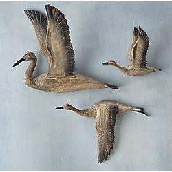 Crane Migration Wall Art