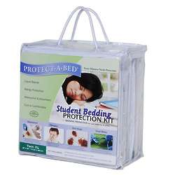 Protect-A-Bed XL Twin Student Bedding Protection Kit