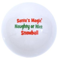 Santa's Magic Snow Ball