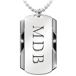 Personalized For My Grandson Dog Tag