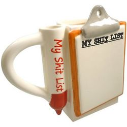 Sh*t List Coffee Mug
