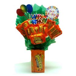 Happy Birthday Reese's Candy Bouquet