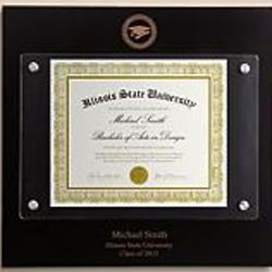 Personalized Diploma Frame