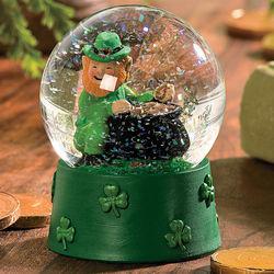 St. Patrick's Water Globe