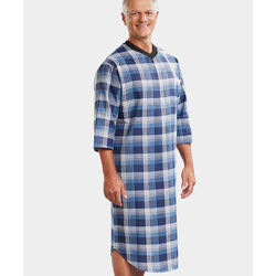 Men's Open Back Adaptive Hospital Patient Gowns