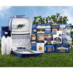 Gourmet Foods Picnic Backpack