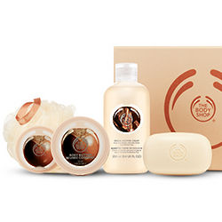 Small Shea Bath and Body Gift Box