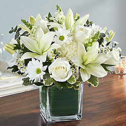 Large All White Healing Tears Bouquet