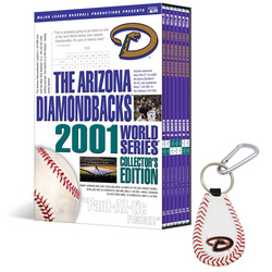 Arizona Diamondbacks Collector's Edition DVD Set & Keychain