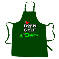 Born to Golf Apron