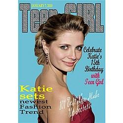 Teen Girl Magazine Cover