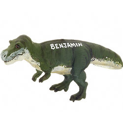 Personalized Tyrannosaurus Rex Christmas Ornament