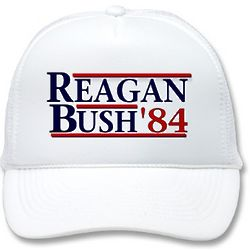 Reagan Bush '84 Mesh Hat