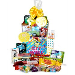 Get Well Band-Aid Candy Basket