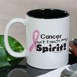 Pink Hope Ribbon Spirit Ceramic Mug