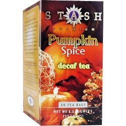 Premium Pumpkin Spice Decaf Black Tea