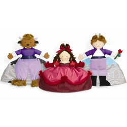 Beauty and the Beast Topsy Turvy Doll
