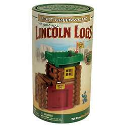 Lincoln Logs Fort Hudson Set
