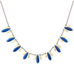 Handmade Glass Bead Grain Necklace