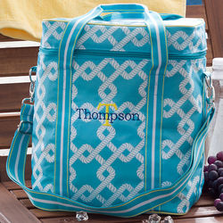 Nautical Link Embroidered Beach Cooler