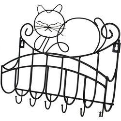 Pretty Kitty Mail and Key Rack