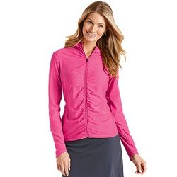 Women's UPF Ruched Water Jacket