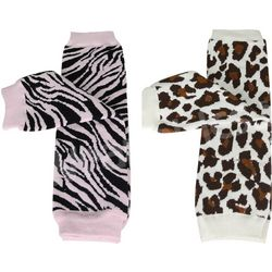 Safari Girl Colorful Baby Leg Warmers