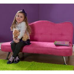 Rose Colored Junior Sofa-Lounger