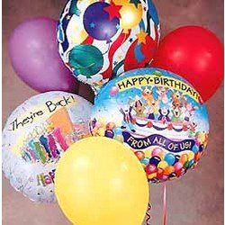 'Up, Up, & Away' Birthday Bouquet
