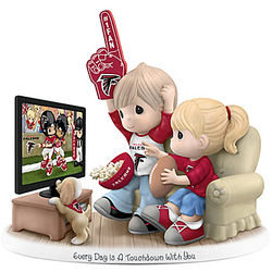 Atlanta Falcons Every Day Is A Touchdown with You Couple Figurine