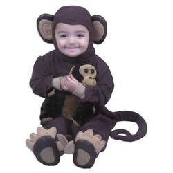 Baby and Toddler Monkey Costume
