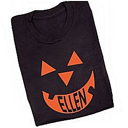 Pumpkin Face Halloween T-Shirt