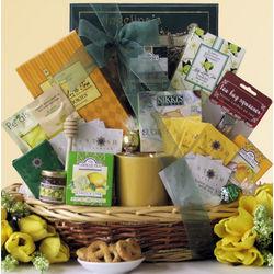 Tea Treasures Large Gourmet Tea Gift Basket