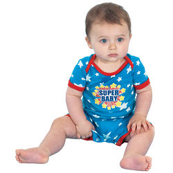 SuperBaby Unisex Short Pajamas for Infants