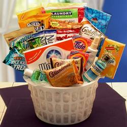 Away from Home Care Necessities Gift Basket