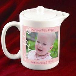 Mommy's Keepsake Photo Mini Teapot