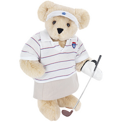 """15"""" Lady Golfer Teddy Bear"""