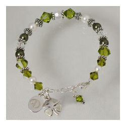 Engraved St. Patrick's Day Bracelet