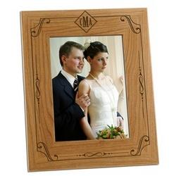 Classic Modern Monogram Photo Frame