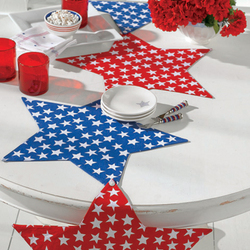 Star-Shaped Table Runner / Placemats