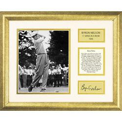 Byron Nelson Golfer Framed Wall Art