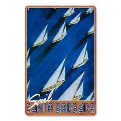 Personalized Vintage Sailing Art Print