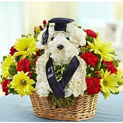 Best in Class Puppy Floral Arrangement
