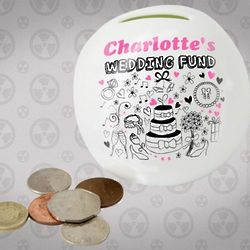 Personalized Wedding Money Box