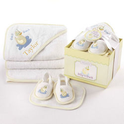 Duck Themed Bathtime Baby Gift Set