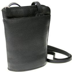 Leather Vaquetta Petite L-Zip Crossbody Bag