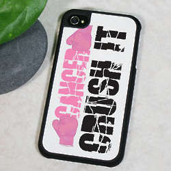 Crush Cancer Awareness iPhone 4 Cover