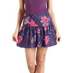 Ruche Swim Skirt with UPF 50+
