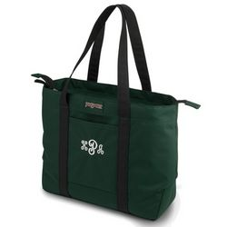 Women's Green Laptop Tote